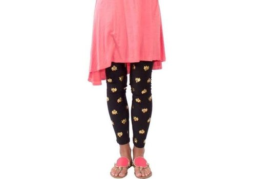 Simply Southern Simply Southern Leggings Golden Elephant PLUS