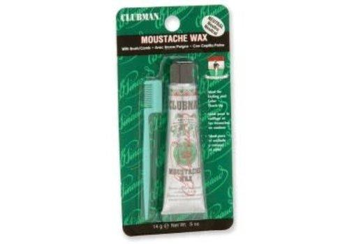 Clubman Moustache Wax & Comb