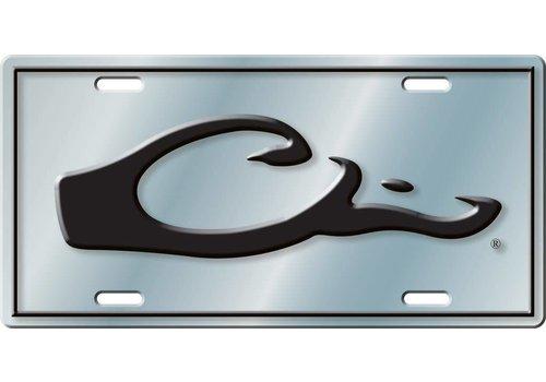 Drake Drake License Plate Silver