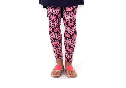 Simply Southern Simply Southern Leggings Crab PLUS