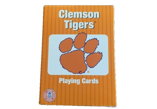 Playmonster Clemson Playing Cards