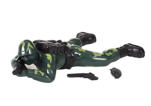 Schylling Retro Crawling Soldier