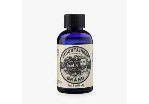 Mountaineer Brand Beard Oil Timber 2oz