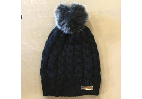 Simply Southern Simply Southern Beanie Black