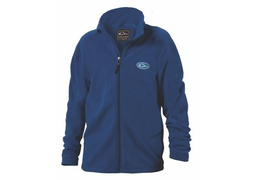 Drake Drake Youth Camp Fleece Full Zip Blue