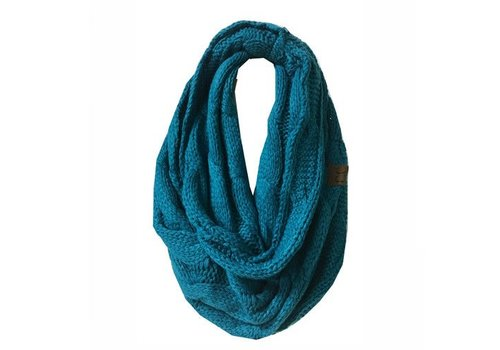 CC Infinity Scarf Teal