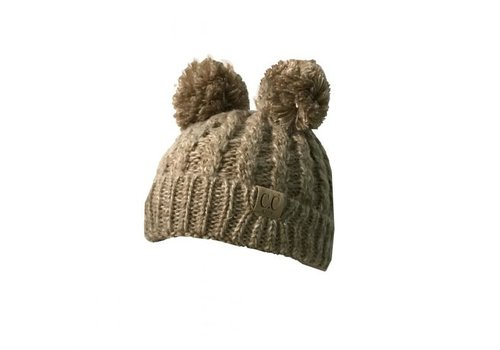 CC Taupe Beanie with Ears YOUTH