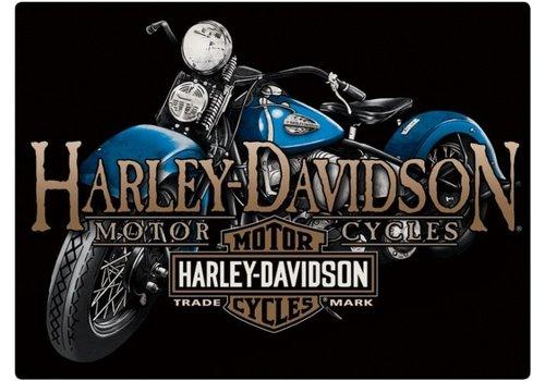 Ande Rooney Harley Davidson Old Blue