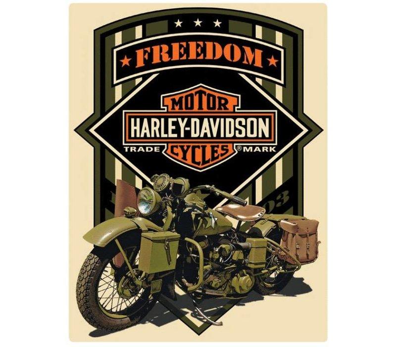 Harley Davidson Freedom Green