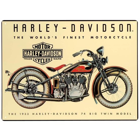Harley Davidson World's Finest Motorcycle