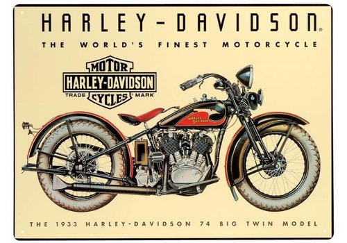Ande Rooney Harley Davidson World's Finest Motorcycle