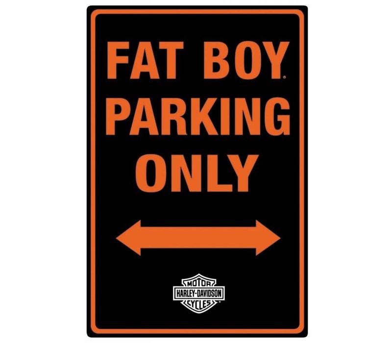 Harley Davidson Fat Boy Parking