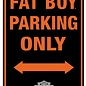 Harley Davidson Fat Boy Parking