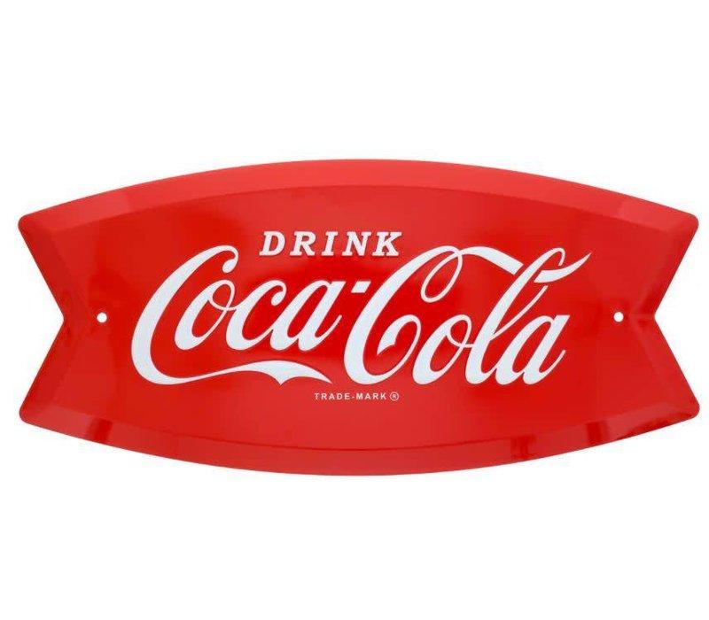 Coke Arciform Fishtail Sign