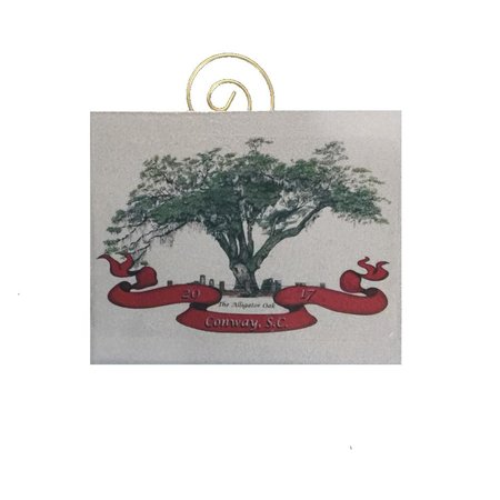 2017 Lon Calhoun Christmas Ornament