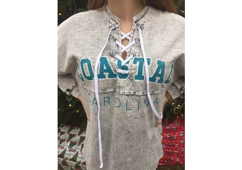 Spirit Jersey Spirit Jersey Coastal Carolina University Lace Up
