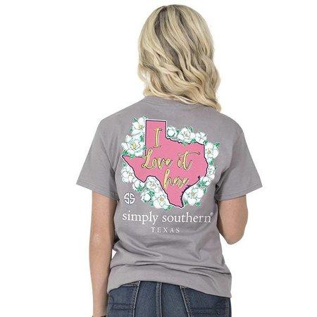 Simply Southern I Like it Here Texas