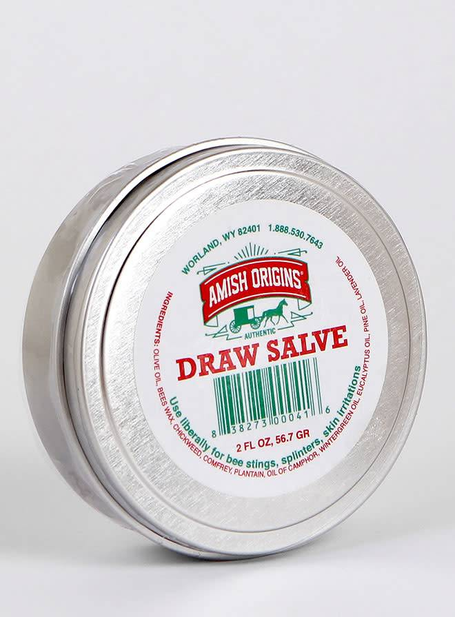 Amish Origins Draw Salve 2 oz Tin