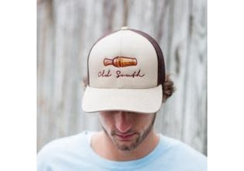 Old South Old South Duck Call Trucker Hat Khaki