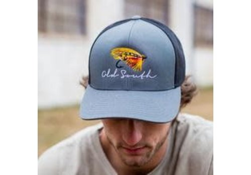 Old South Old South Fly Fishing Trucker Hat Graphite