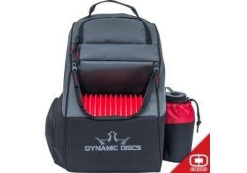 Dynamic Discs Trooper Backpack Disc Golf Bag Red