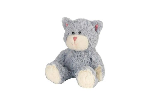 Intelex Blue Cat Warmies® Microwaveable Cozy Plush