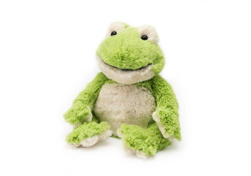 Intelex Frog Warmies® Microwaveable Cozy Plush
