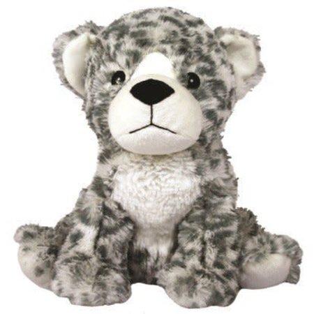 Snow Leopard Warmies® Microwaveable Cozy Plush
