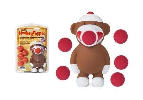 Hog Wild Sock Monkey Popper