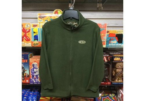 Drake Drake Youth Camp Fleece Full Zip Green