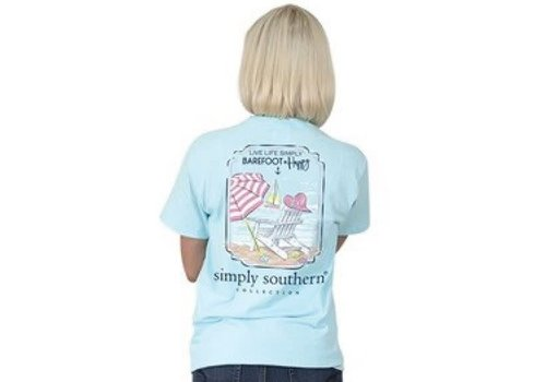 Simply Southern Simply Southern Preppy Barefoot T-Shirt