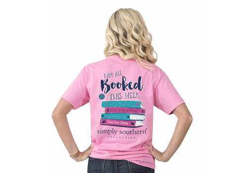 Simply Southern Simply Southern Preppy All Booked This Week T-Shirt