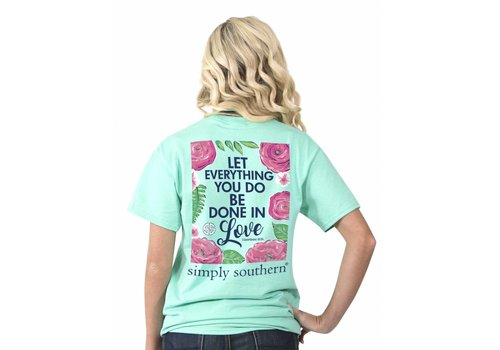 Simply Southern Simply Southern Everything Done in Love T-Shirt