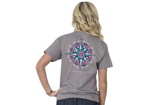 Simply Southern Simply Southern Preppy Let Your Heart Be Your Compass T-Shirt
