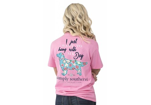 Simply Southern Simply Southern Hang With My Dog T-Shirt