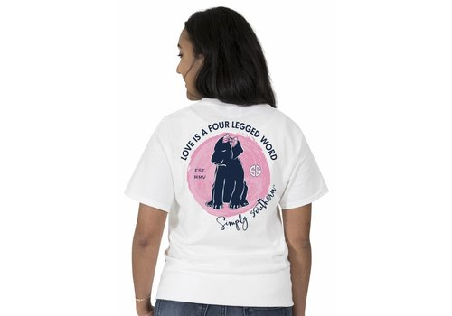 Simply Southern Simply Southern Love is a Four Legged Word T-Shirt