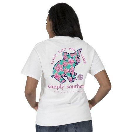 Preppy Love You Pig Time T-Shirt