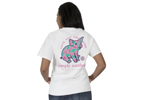 Simply Southern Simply Southern Preppy Love You Pig Time T-Shirt