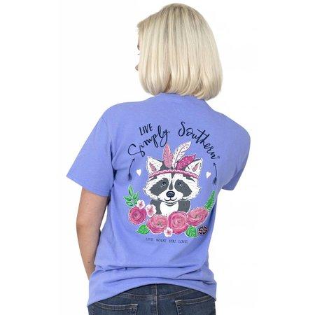 Preppy Racoon Love T-Shirt