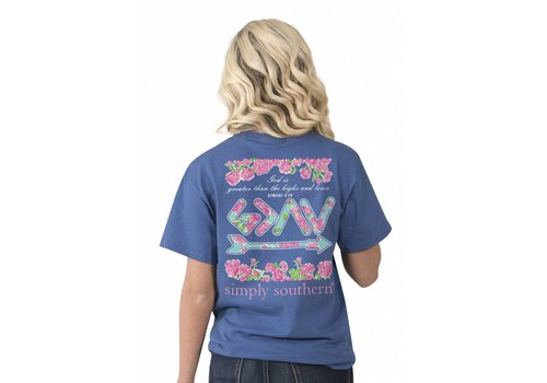 Simply Southern Simply Southern Preppy Romans 8:28 T-Shirt