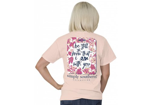 Simply Southern Simply Southern Be Still Know I Am With You T-Shirt