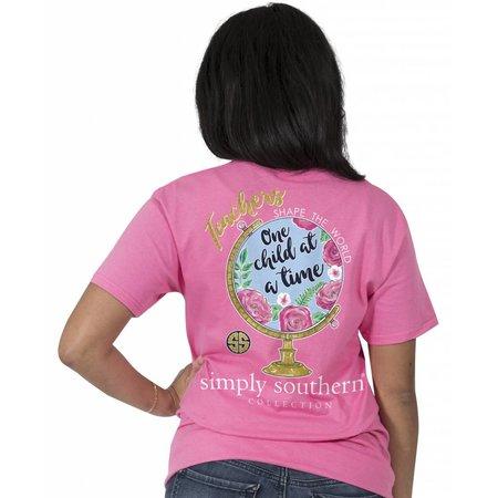 Simply Southern Teachers Shape the World T-Shirt