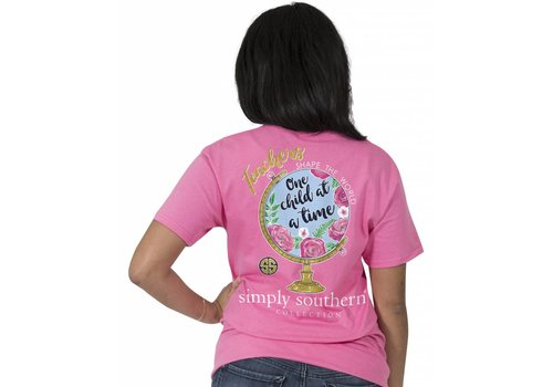 Simply Southern Simply Southern Teachers Shape the World T-Shirt