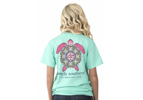 Simply Southern Simply Southern Preppy Turtle T-Shirt
