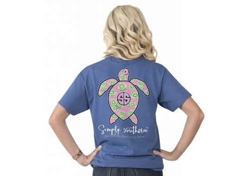Simply Southern Simply Southern Save The Turtles Kiwi T-Shirt