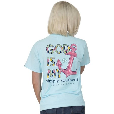 God is My Anchor Youth T-Shirt