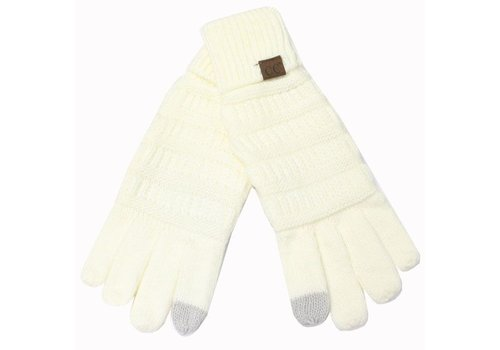 C.C Ivory Gloves