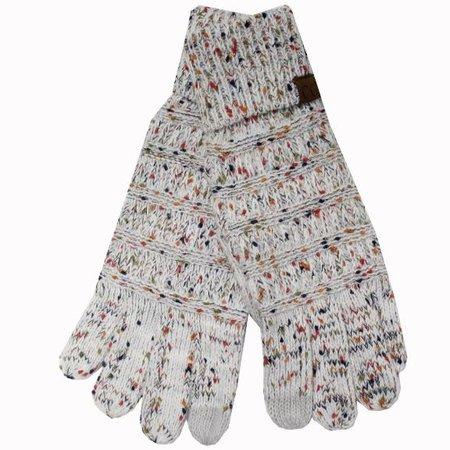 C.C Ivory Speckled Gloves