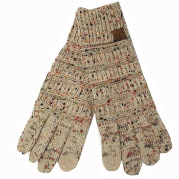 C.C Latte Speckled Gloves