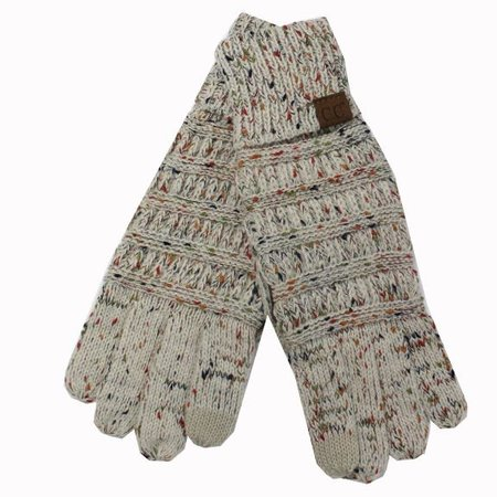 CC Oatmeal Speckled Gloves